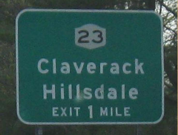 claverack sign